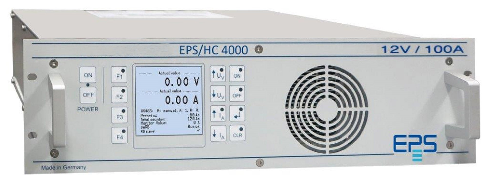 EPS/HC 4000 DC Current Source 1,5 - 12 kW