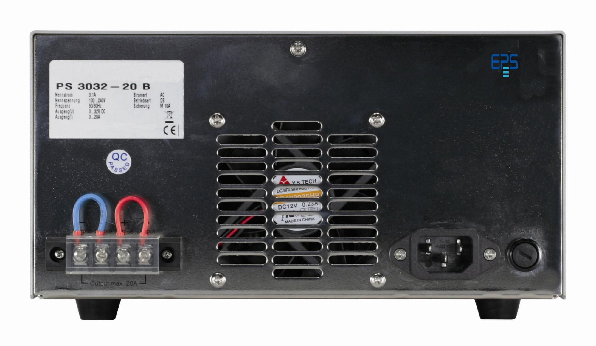 E/PS 3016-20B Labornetzgerät linear