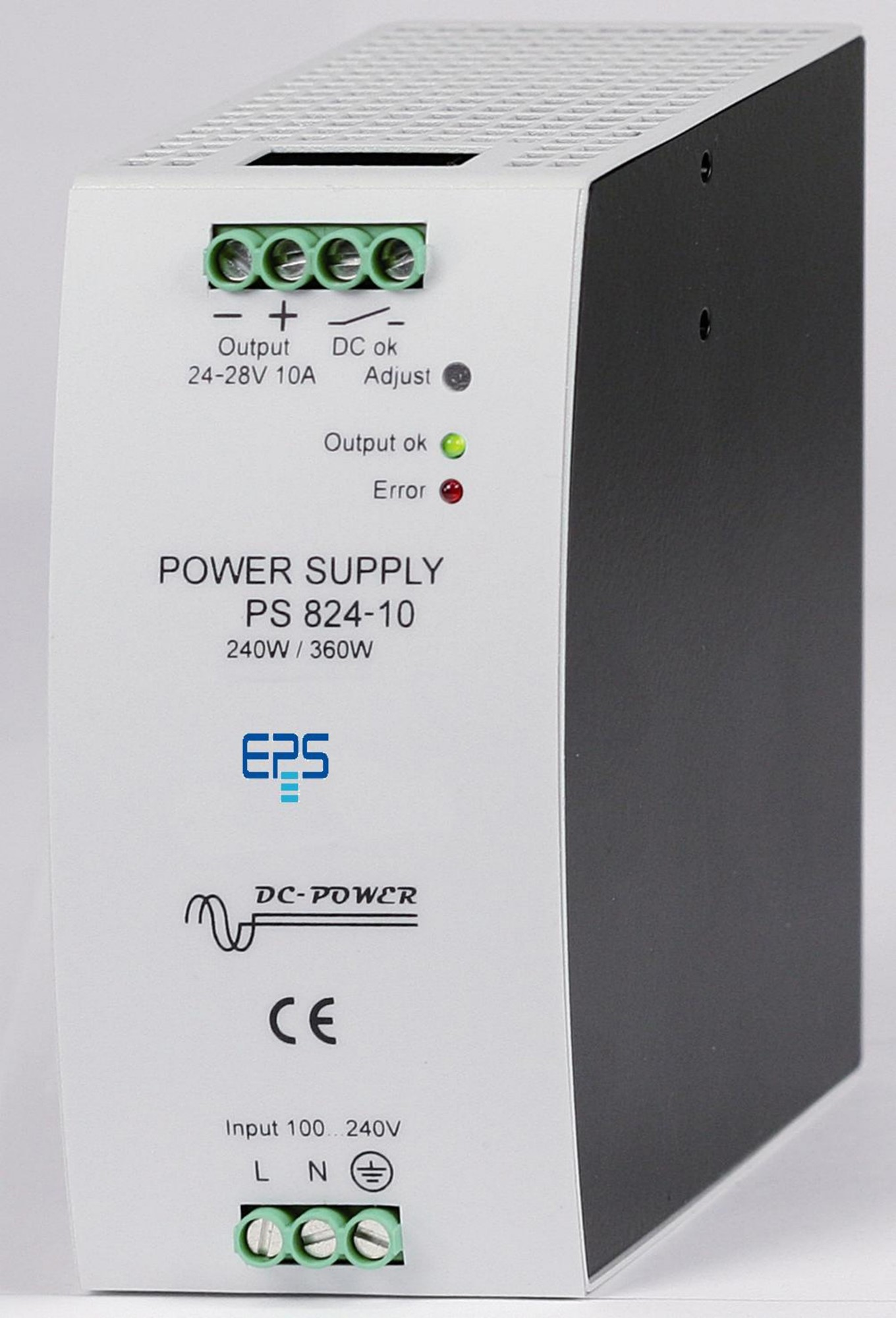E/PS 800-SM DinRail Power Supply 80-480 W