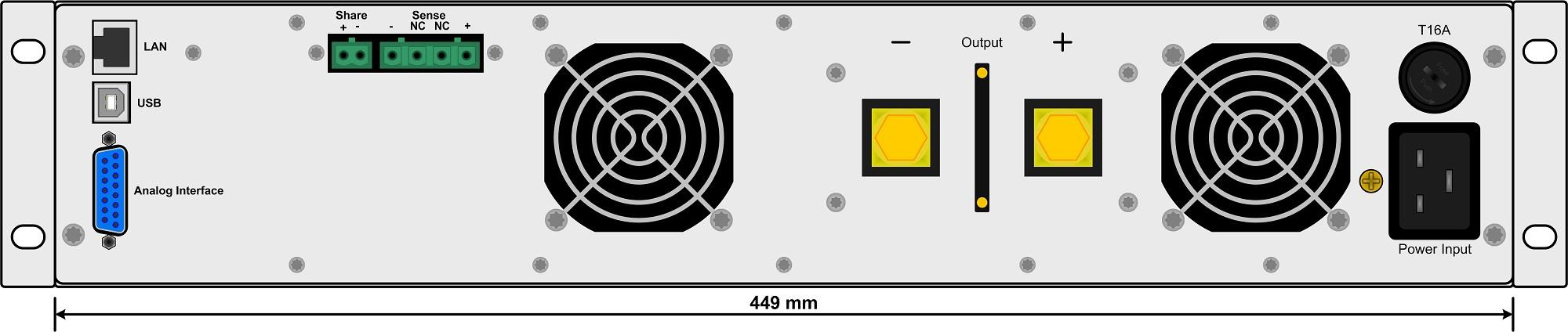 E/PS 9750-06 2U Labornetzgerät