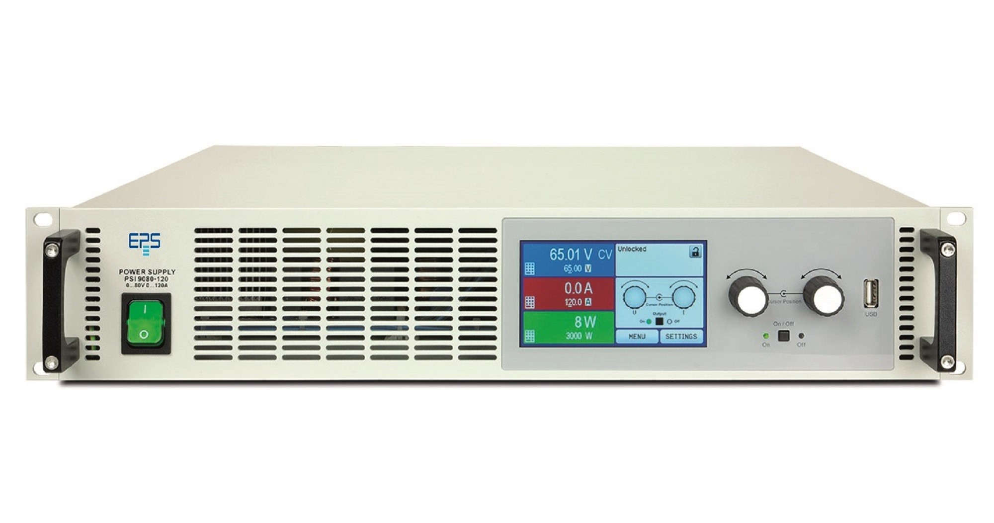E/PSI 9000-2U Laboratory Power Supply 1000-3000 W