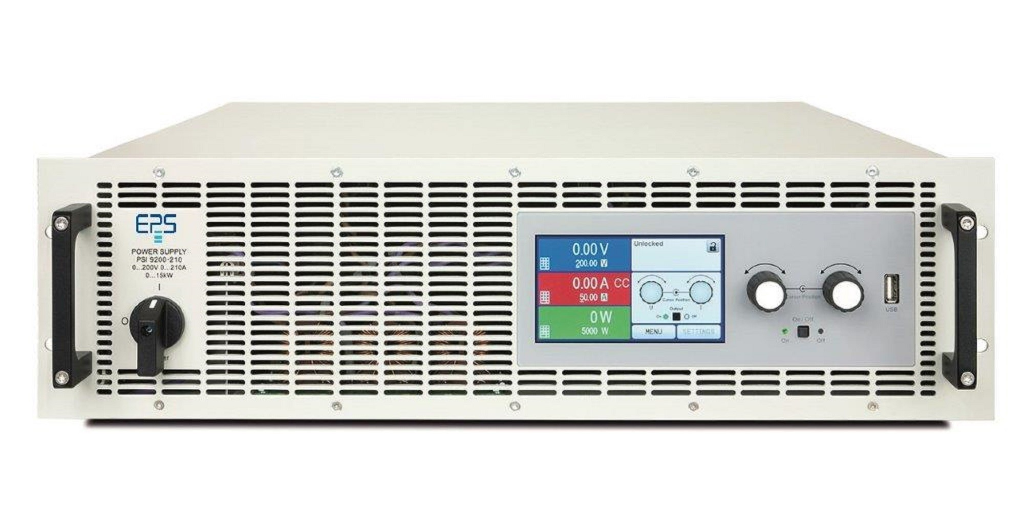 E/PSI 9000-3U Laboratory Power Supply 3.3-150 kW