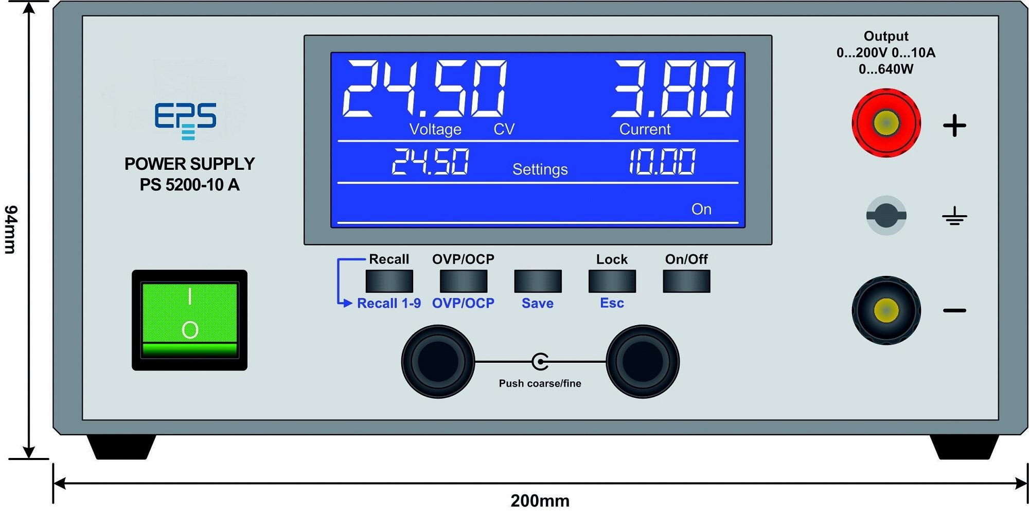 E/PS 5040-10A Labornetzgerät