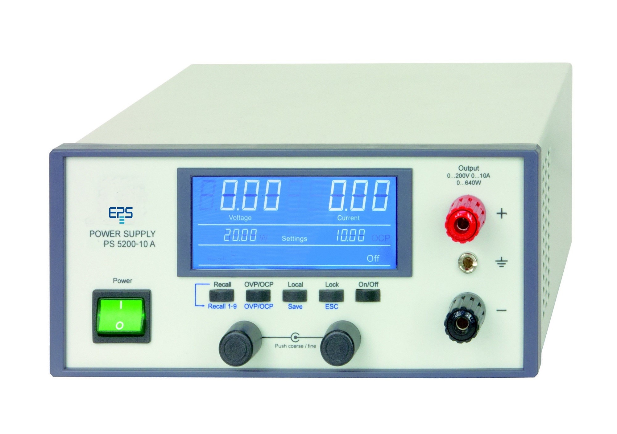 E/PS 5000 Laboratory Power Supply 160-640 W