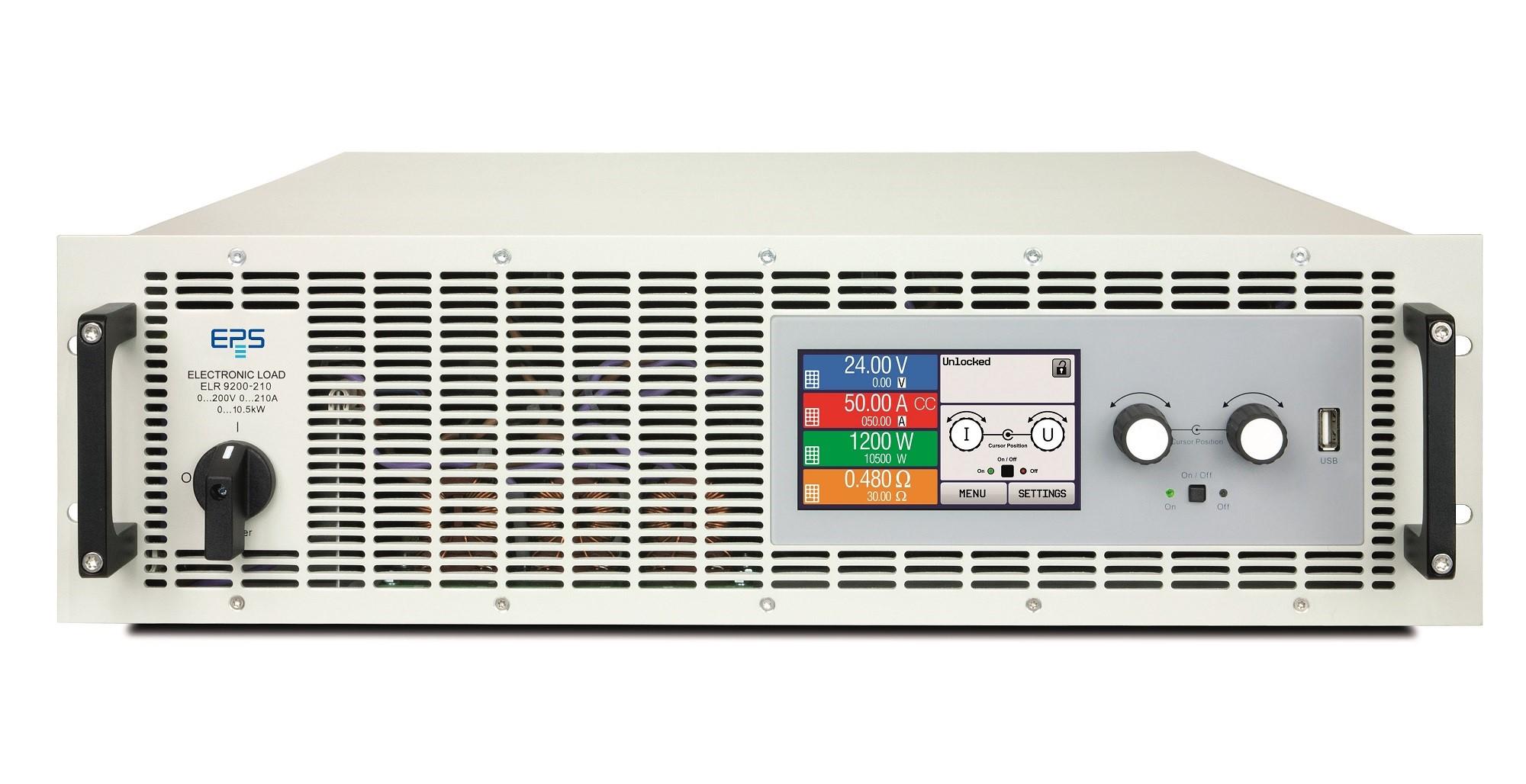 EPS/ELR 9000 Elektronische Last mit Netzrückspeisung 3.5-10.5 kW