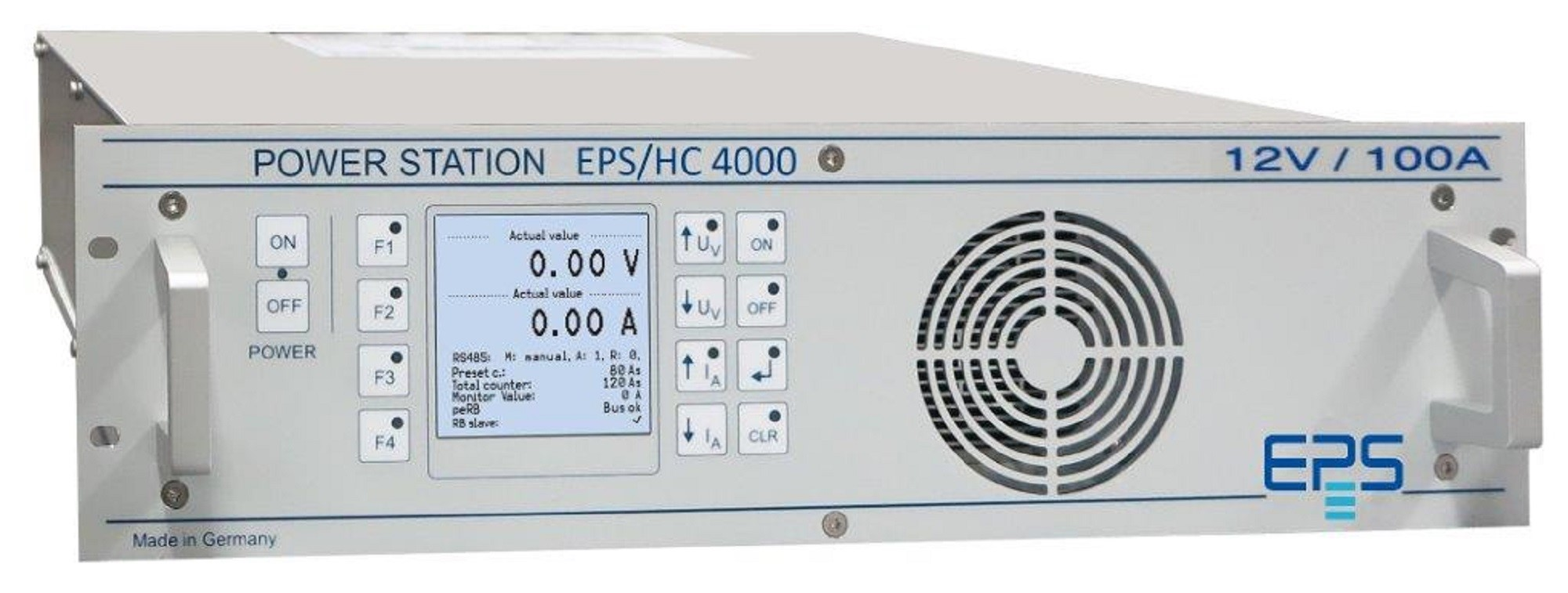 EPS/HC 4000 DC Current Source 1250 - 12000 W
