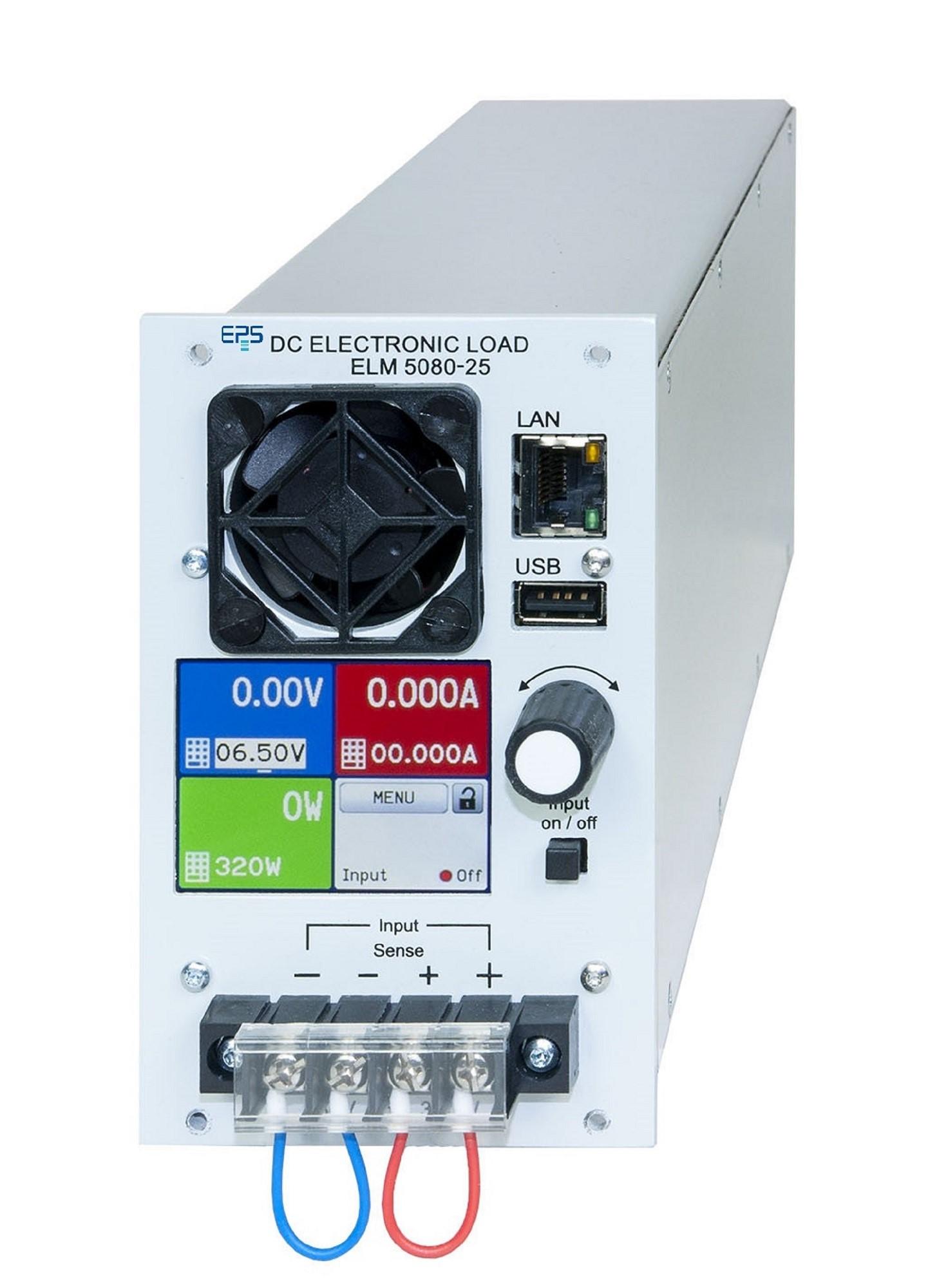 EPS/ELR/ELM 5000 Elektronische Mehrkanal-Last mit Netzrückspeisung 320-3200 W
