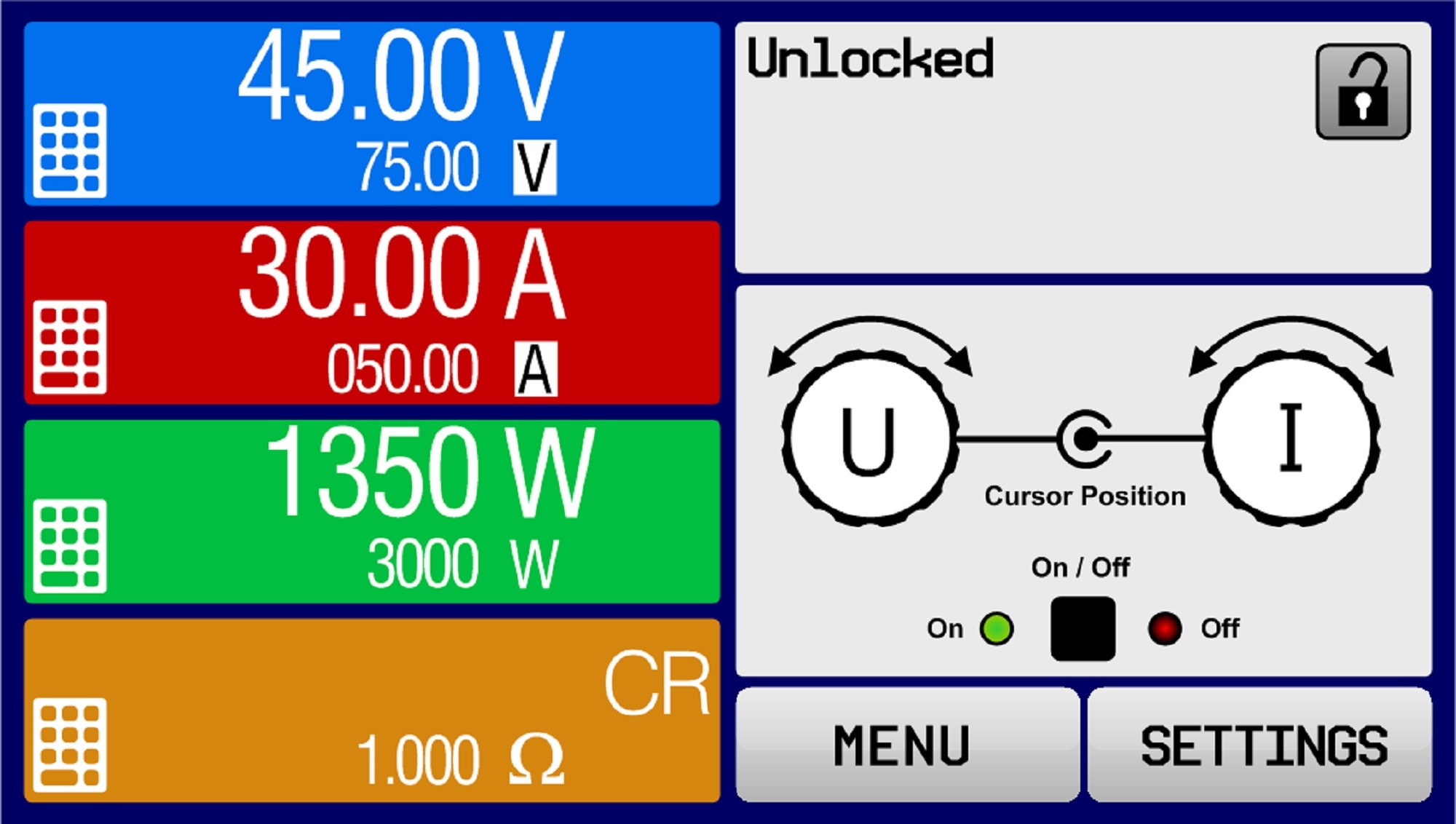 EPS/EL 9200-35B-HP 2U Elektronische Last