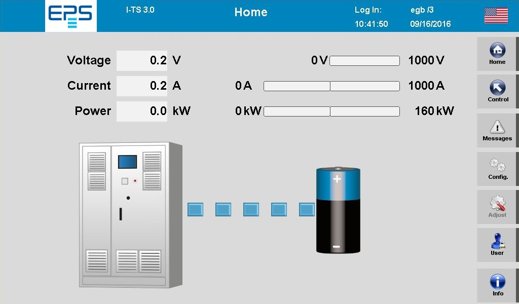 EPS/TSDCR 10006001000 BidirektionalesTestsystem Netzrückspeisung