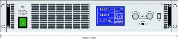 E/PSI 9080-120 2U Labornetzgerät
