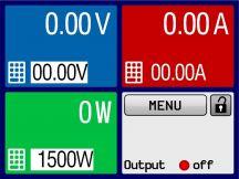 E/PS 9040-40 T 1000 W Labornetzgerät